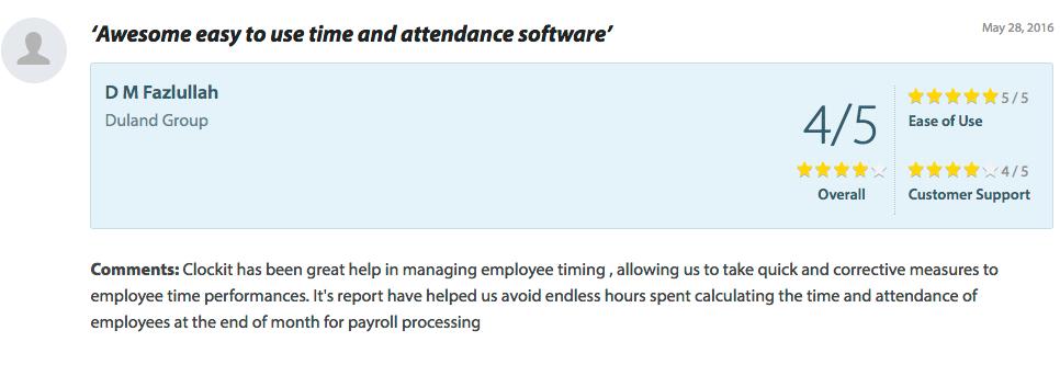 Time Clock Software - ClockIt