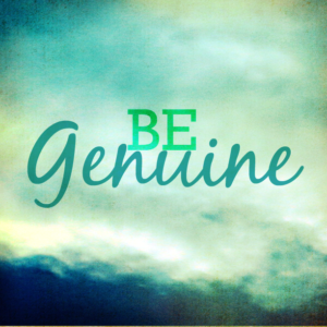 Are You Genuine? clockit