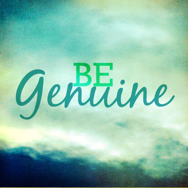 Are You Genuine? clockit