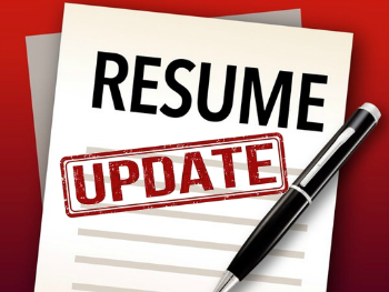 High Quality 23 Aug Time To Update That Resume! Intended Updating Your Resume